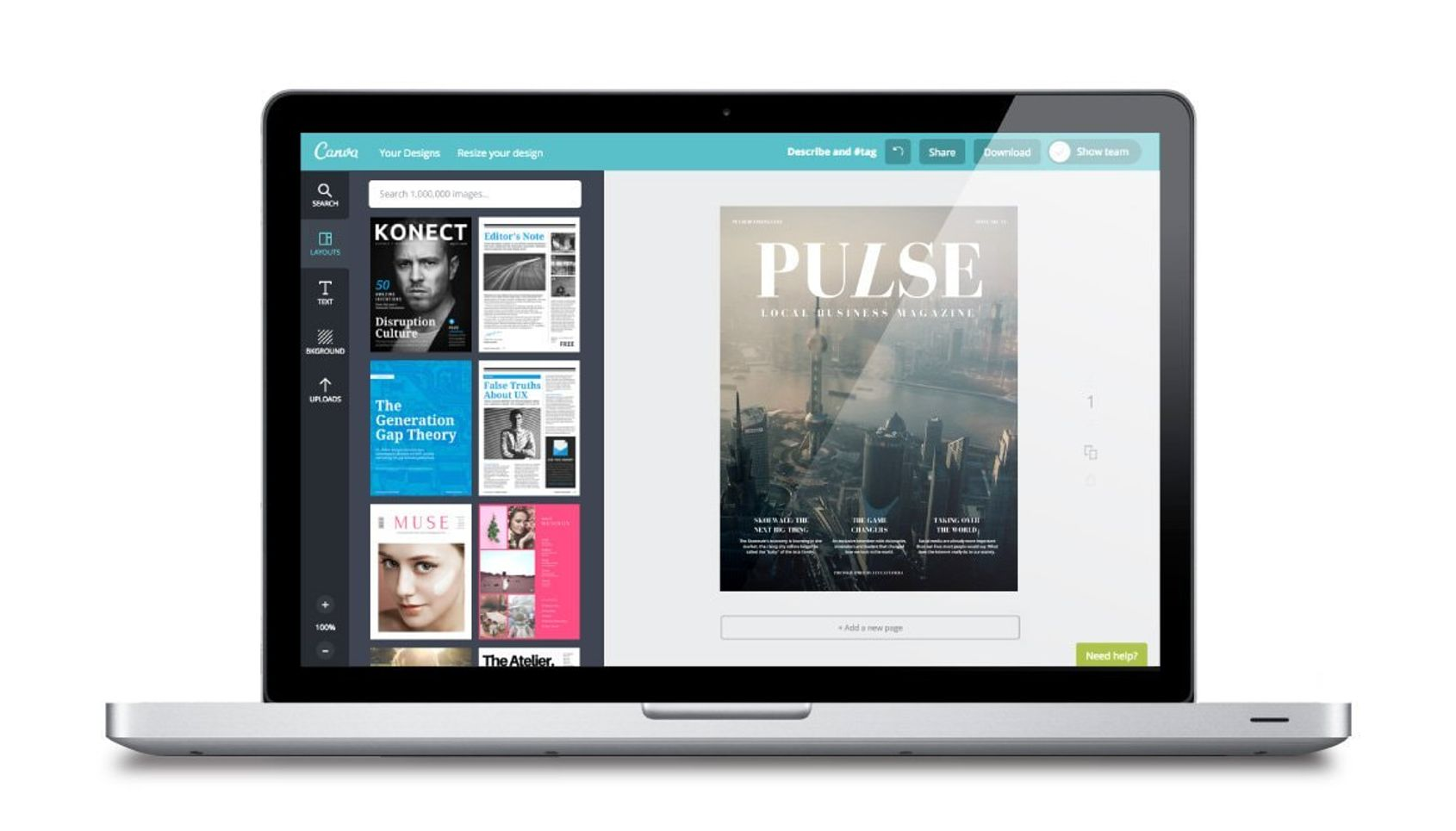 Free Online Magazine Cover Maker Canva