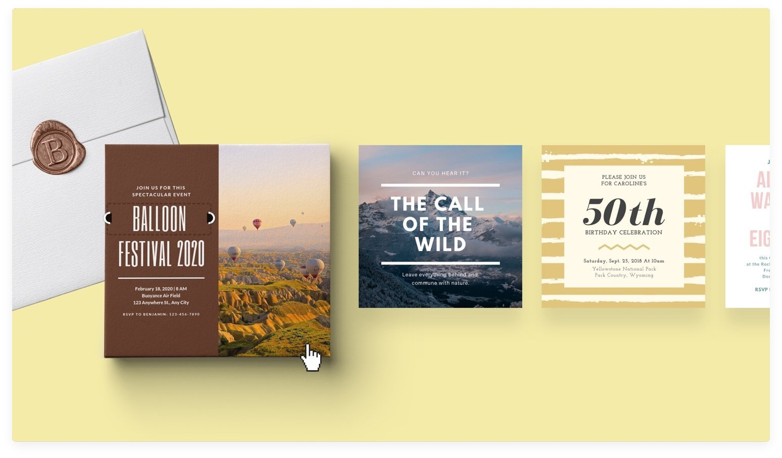 Invitation Maker: Design Your Own Custom Invitation Cards - Canva