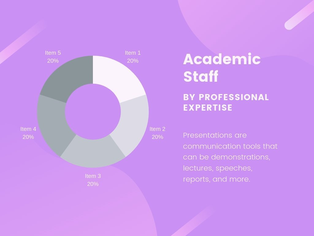 Purple Shapes Hot Neons Gradients (Cont.) Professional Presentation