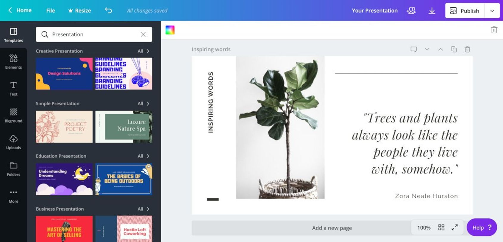 Image result for canva presentation