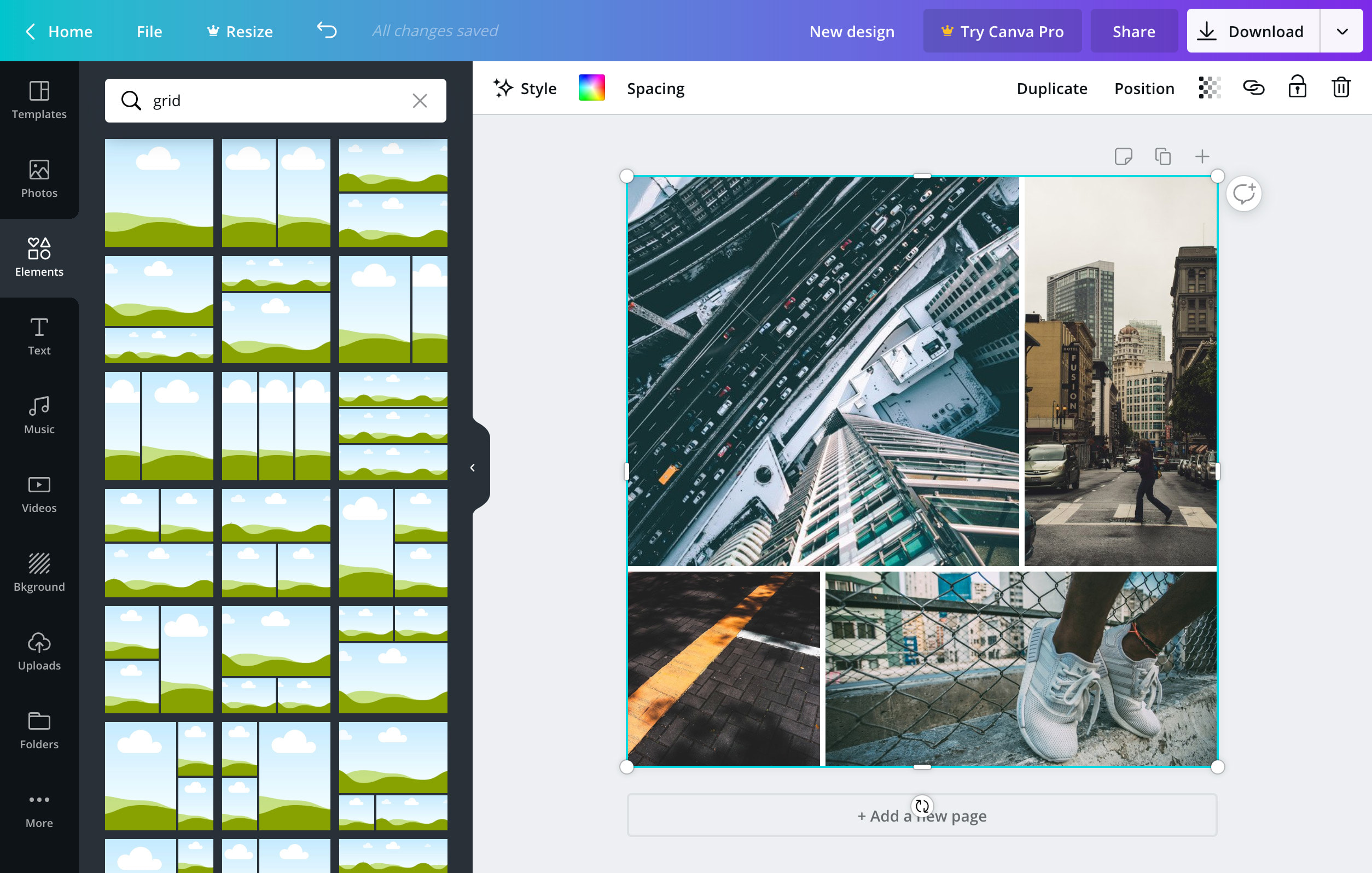 Design Photo Grids Features Canva