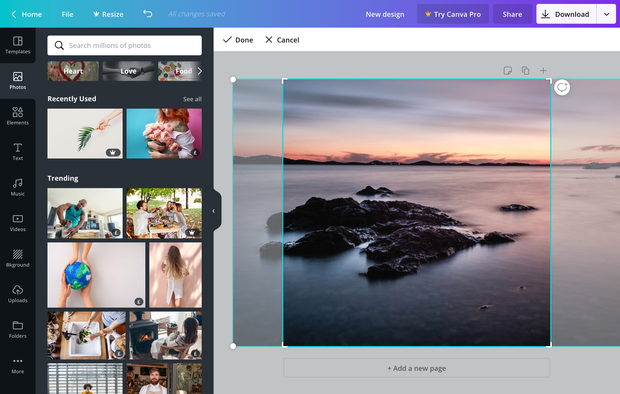 Easily Crop Images Online With Canva