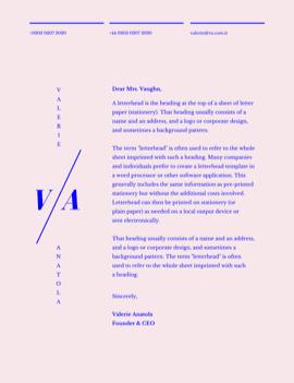 letterhead-doanh nghiệp
