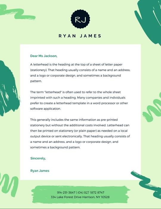 personal-letterhead