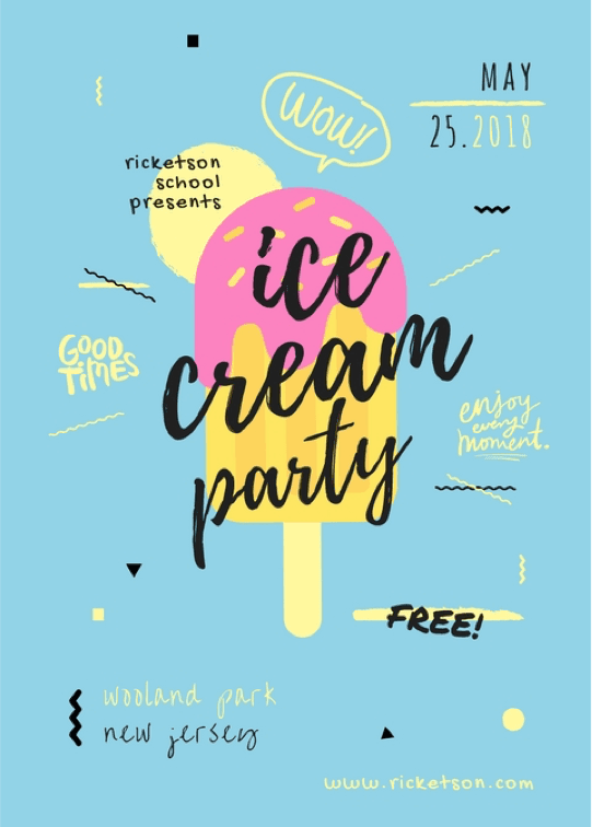 party-flyer