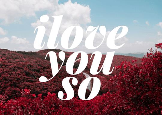 thiệp-tình yêu