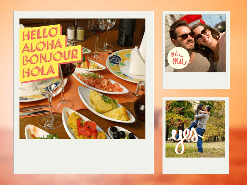 Experiment with Stickers in Canva