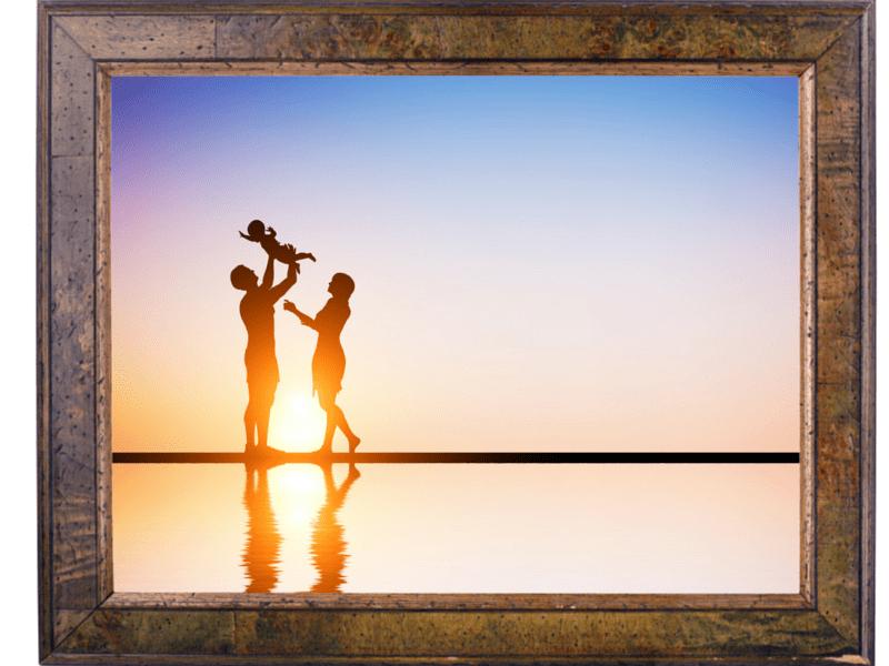 Explora los marcos para fotos de Canva