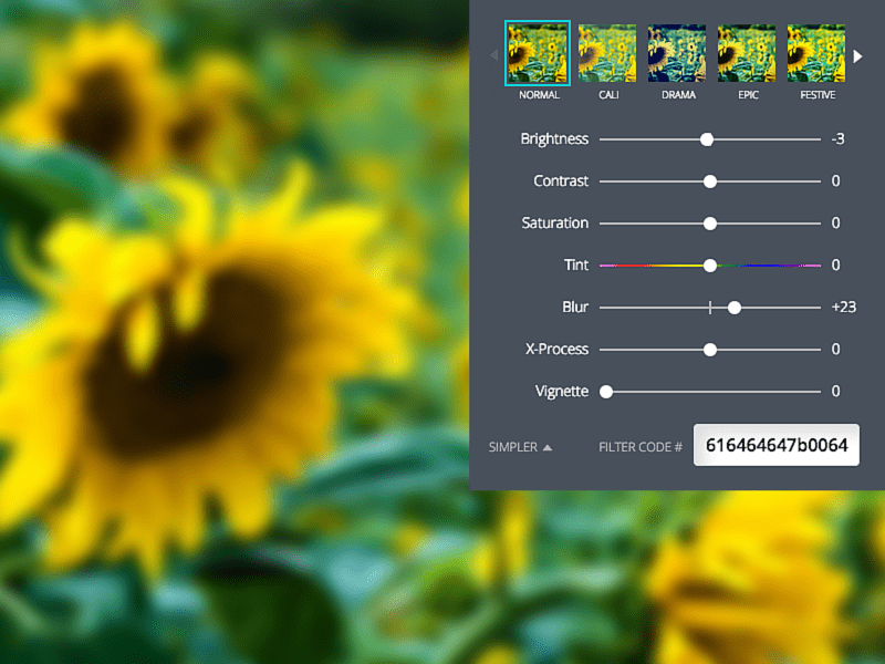 Blur your photos in Canva