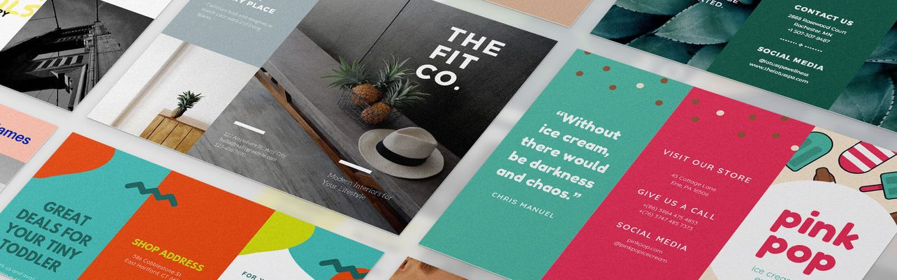 best website to make brochures free