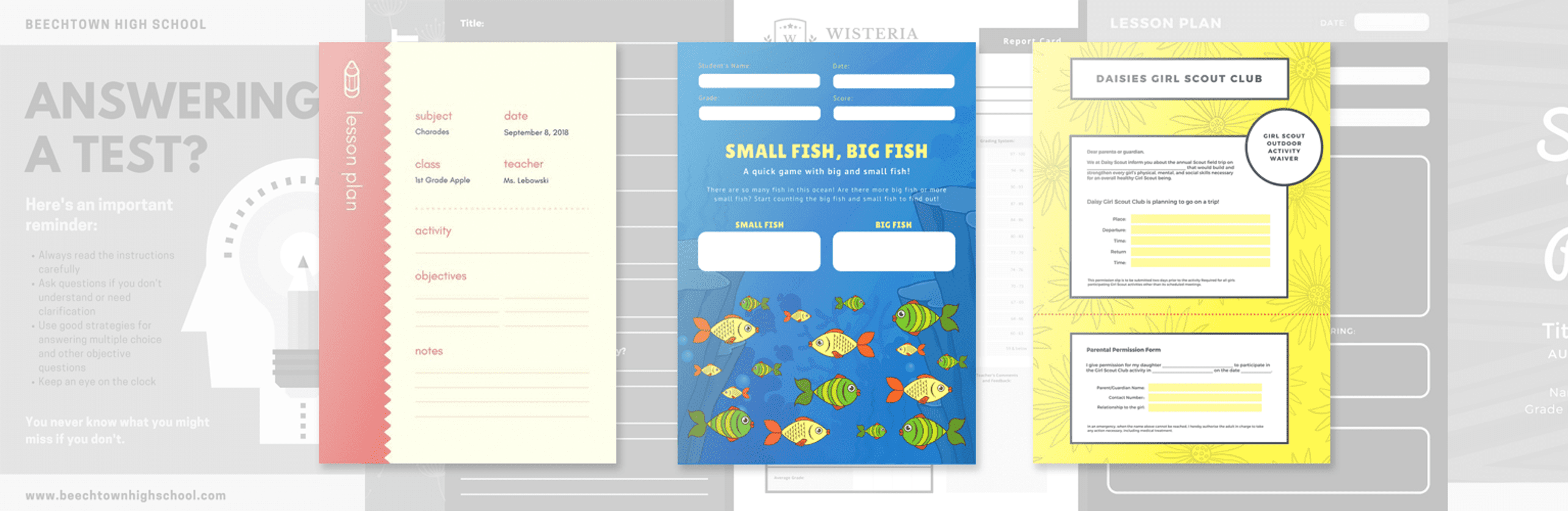 Free Flash Card Template from static-cse.canva.com